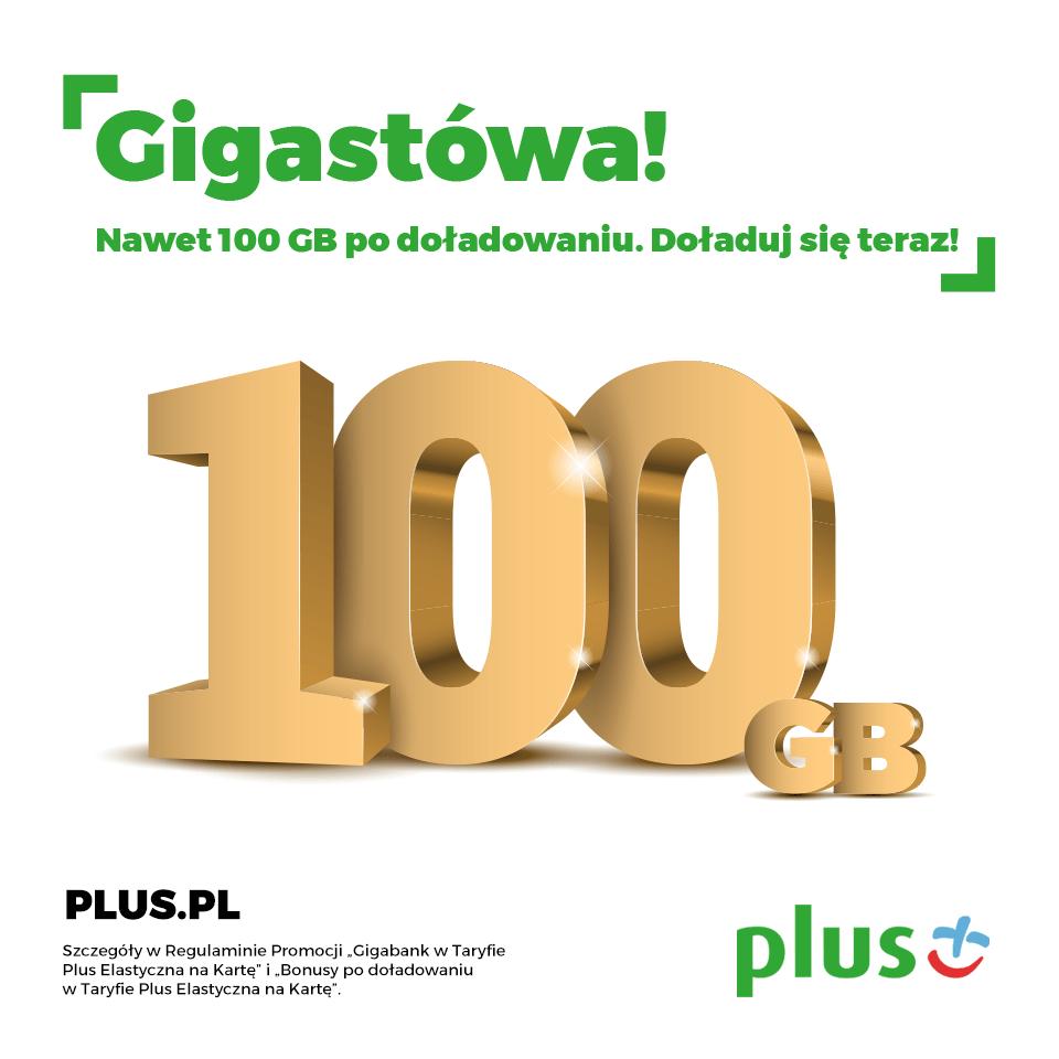 """""""GigaBank w Taryfie Plus Elastyczna na Kartę"""""""