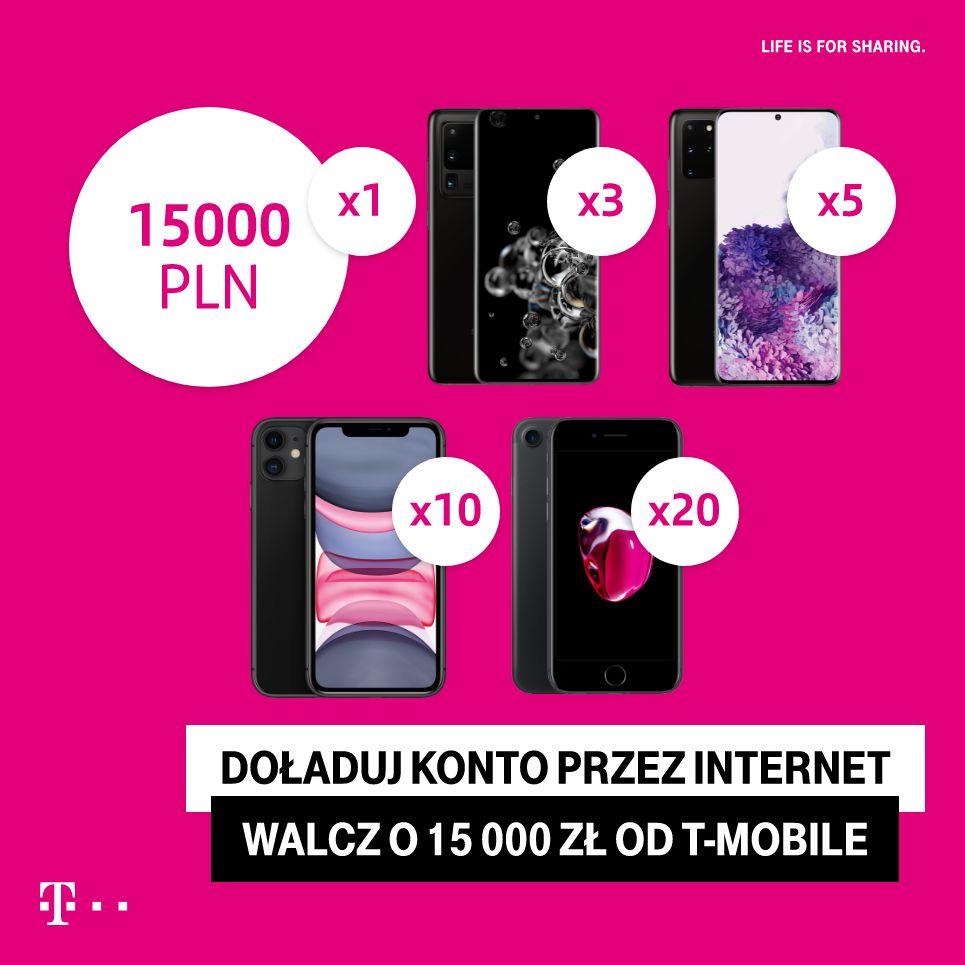 """Konkurs T-mobile  """"Wakacyjne doładowanie II"""""""