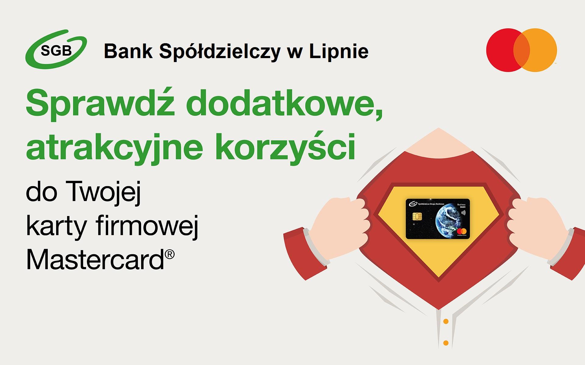 Bezpieczniej z kartą firmową Mastercard