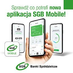 Pobierz SGB Mobile i miej bank w zasięgu ręki!