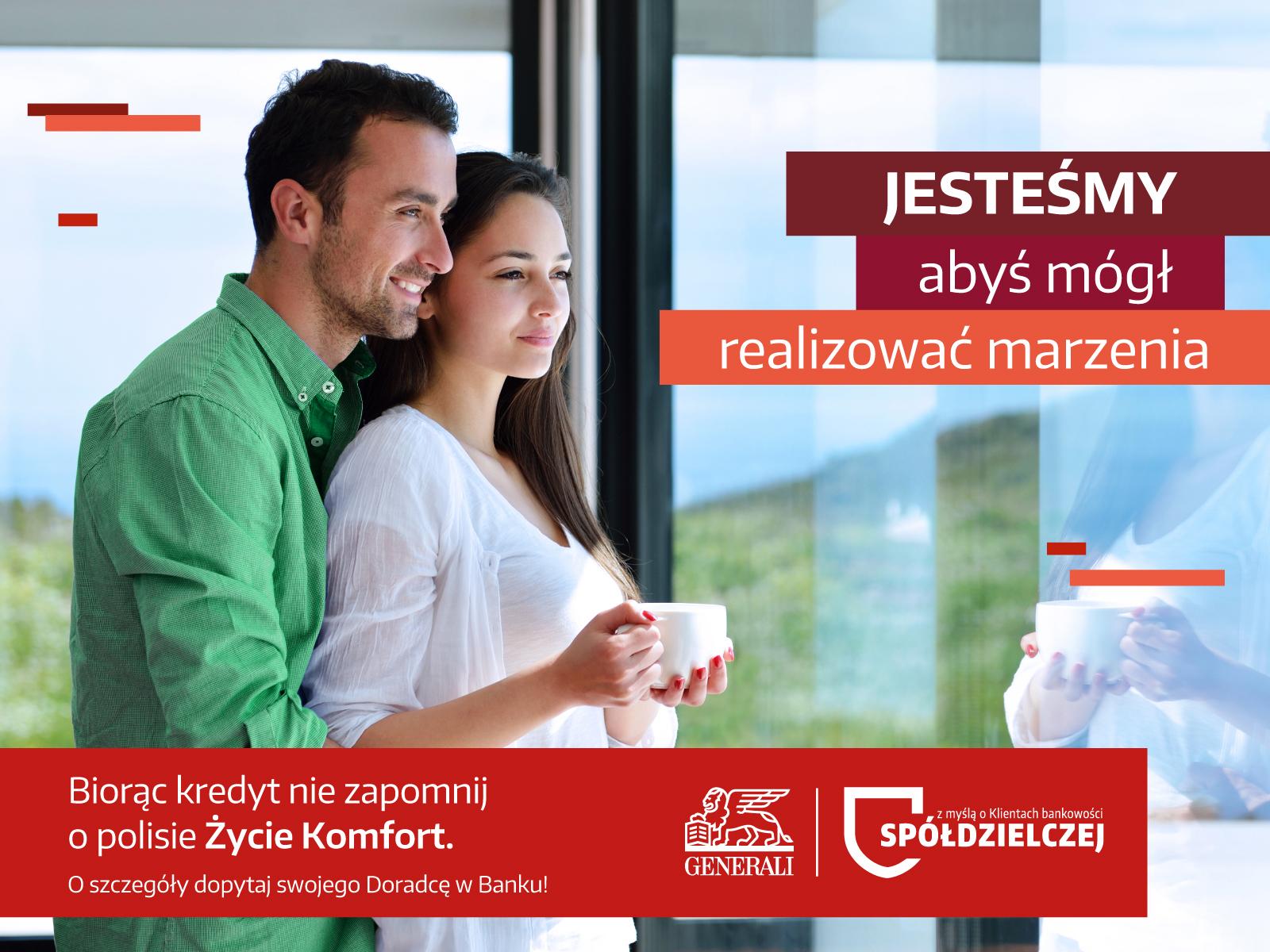 Życie Komfort - ubezpieczenie kredytobiorców
