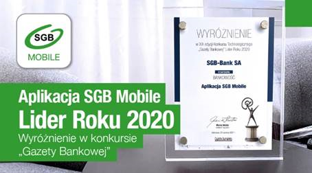 SGB Mobile jednym z Liderów 2020 roku!