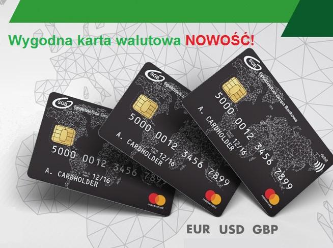 Wygodna karta walutowa